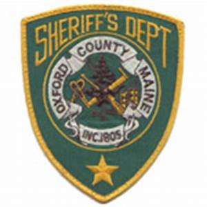 Oxford County Sheriff's Office, Maine, Fallen Officers