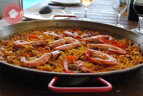 recettes de fruits de mer par les gourmandises de kimaya fideua valencienne de fruits de mer