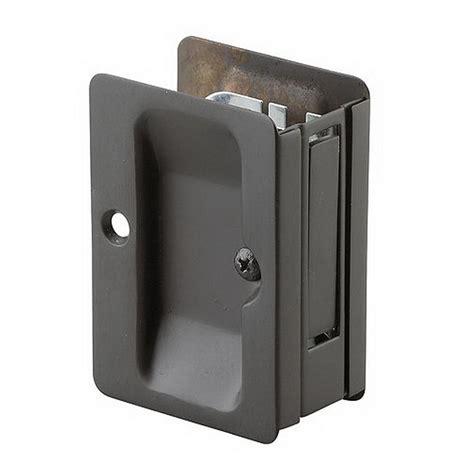 richelieu hardware 3 7 32 in black pocket door pull with
