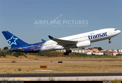 c ggts air transat airbus a330 200 at lisbon photo id 583824 airplane pictures net