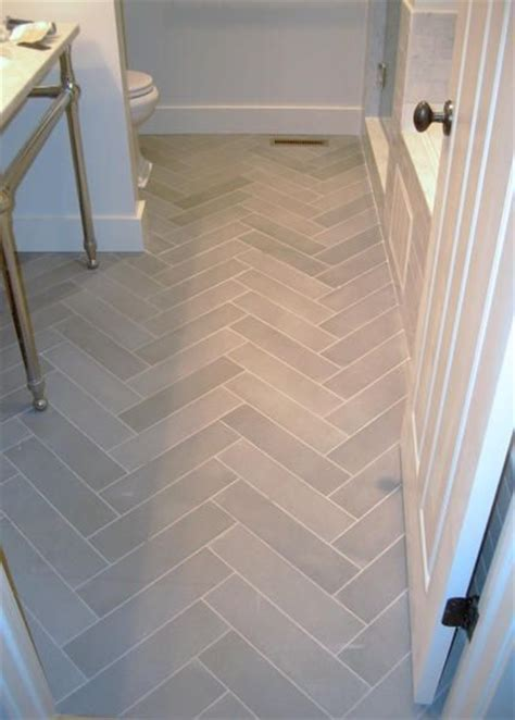 6x24 Wood Tile Layout by Herringbone Tile Floor For The Home