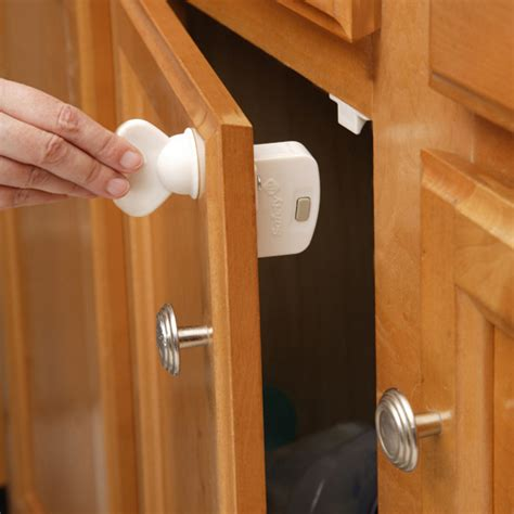 Magnetic Locks For Cabinets Canada by Safety Child Proof Magnetic Lock Key In Cabinet Hardware