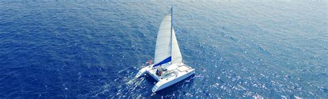 Catamaran Snorkeling Kona Hawaii by Private Catamaran Charter Kailua Kona Hawaii Private