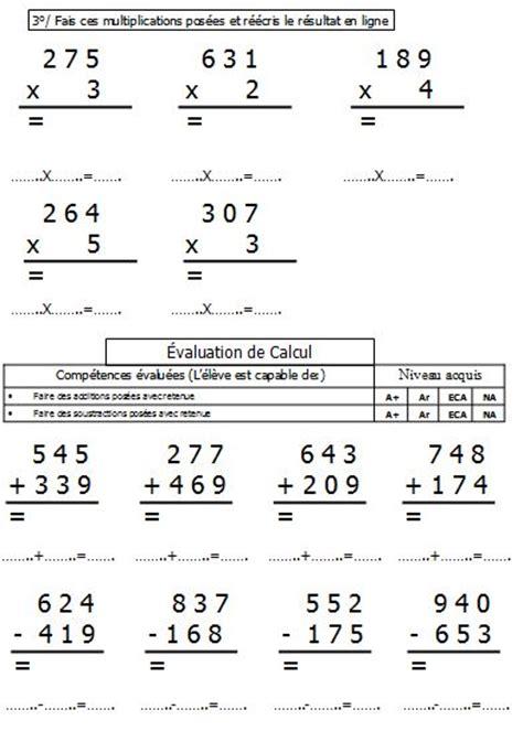 evaluations num 233 ration calcul ce1 p 233 riode 4 files num 233 riques droites gradu 233 es encadrements