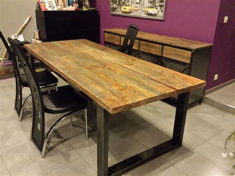 table salle manger en bois galerie et grande table de salle 224 manger avec rallonges des