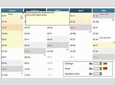 SmartTools Jahreskalender 2018 für Excel Download CHIP