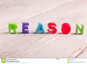 Reason Stock Photo - Image: 59545534