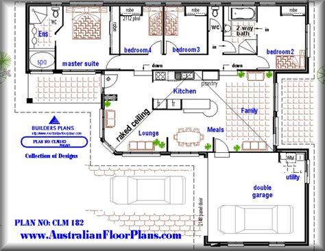 what is a split floor plan real estate 182 split level 4 bedroom home floor plans real estate