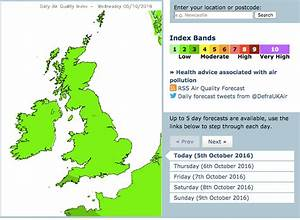 Air pollution exceeds WHO levels in 90% of UK, and may cause