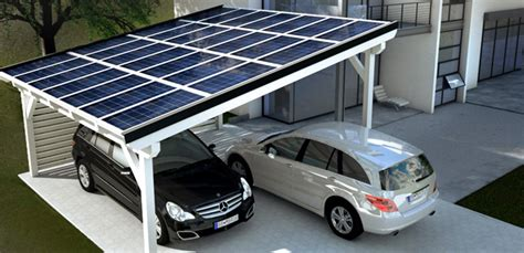 Solarcarport Bausatz Als Fertigcarport Online Bestellen