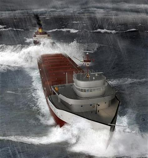 Sinking Of The Ss Edmund Fitzgerald by Wreck Of S S Edmund Fitzgerald