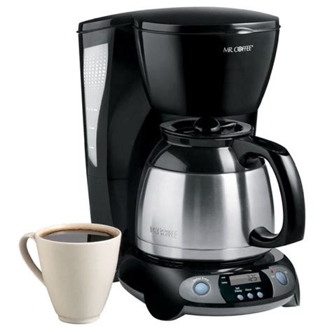Buy Best Cheap Mr. Coffee 8 Cup Thermal Programmable Coffeemaker   Espresso Appliances Store