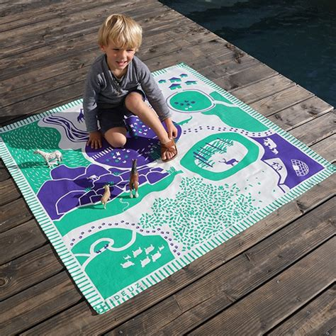 tapis de jeu enfant tapikid animaux la boutique desjoyaux