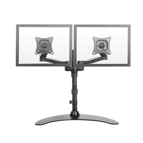standing desk monitor mount 28 images dual monitor standing desk images used dual monitor