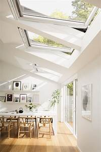 Home And More : roof windows and increased natural light hege in france white scandinavian dining ~ Markanthonyermac.com Haus und Dekorationen