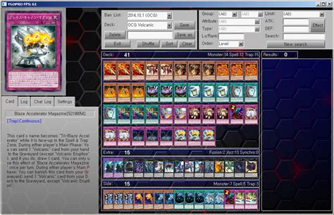 yu gi oh ygopro ocg deck volcanic by ygopropro on