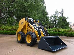 Wheeld mini excavator KUBOTA diesl engine mini skid steer ...