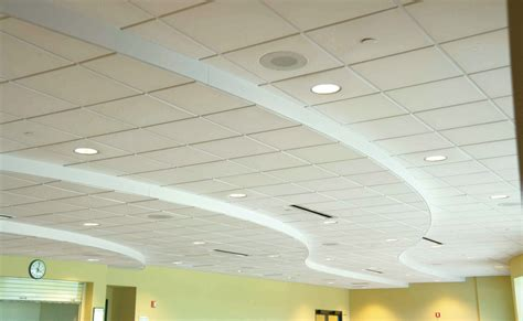 interior acoustical ceiling tiles calm and comfortable