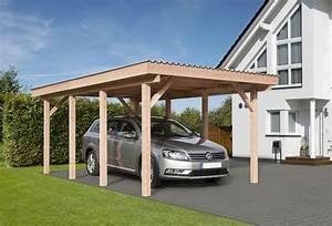 Carport Im Vorgarten : carport erding mit flachdach ca b340xt570 cm mit pvc dacheindeckung mr gardener zeven und ~ Markanthonyermac.com Haus und Dekorationen