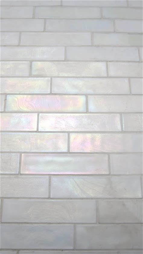 25 best ideas about iridescent tile on glass