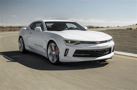 First Test 2016 Chevrolet Camaro Rs V6 [motortrend]