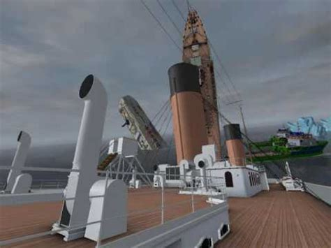 ship simulator titanic sinking 1912