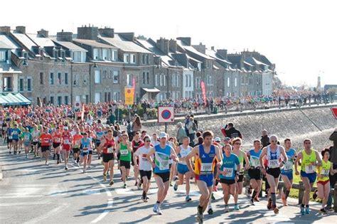 marathon du mont michel du sport au cœur de la baie