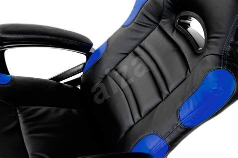 Arozzi Enzo Gaming Chair Blue Arozzi Enzo Blue Gaming Chair Alzashop