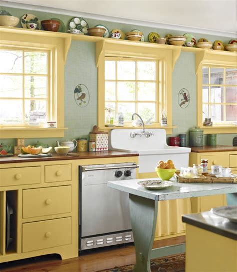 colored kitchen cabinets blogher