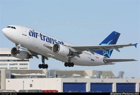 c glat air transat airbus a310 at montreal elliott trudeau intl qc photo id 36359