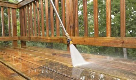 how to clean and maintain your garden patio and decking