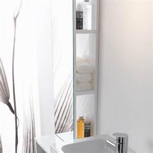 Regal Mit Spiegel : keramag icon xs regal mit spiegel alpin hochglanz 840028000 reuter ~ Markanthonyermac.com Haus und Dekorationen
