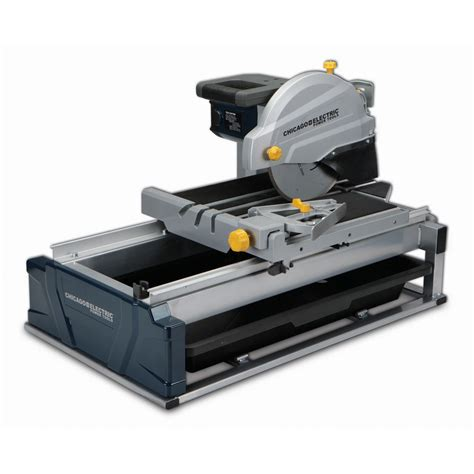 harbor freight coupon 2 5hp 10 industrial tile brick saw