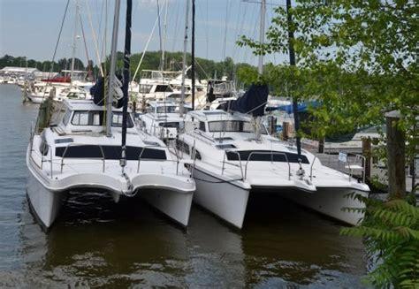 Plastic Catamaran Hull by Catamarans For Sale Hull 1172 Legacy 35 Gemini
