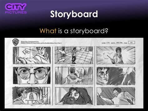 What are storyboards?
