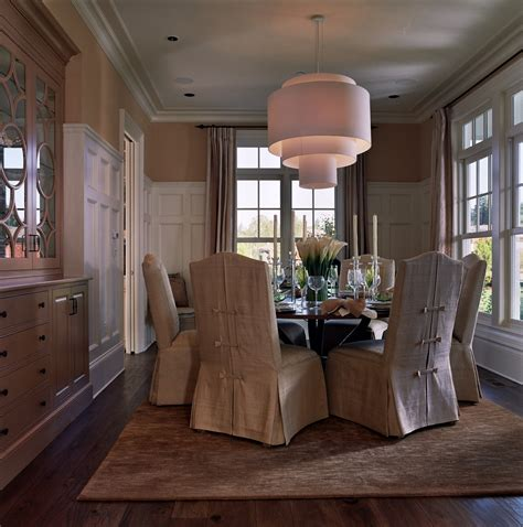spectacular slipcovers for chairs with arms decorating ideas images in dining room traditional