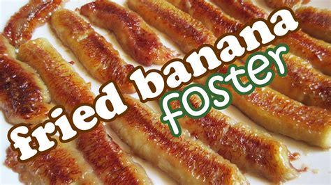 fried bananas foster recipe no bake banana desserts and easy dessert recipes ideas