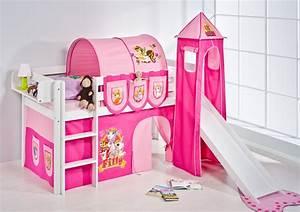 Vorhang über Bett : spielbett hochbett kinderbett kinder bett jelle mit turm und rutsche vorhang ebay ~ Markanthonyermac.com Haus und Dekorationen
