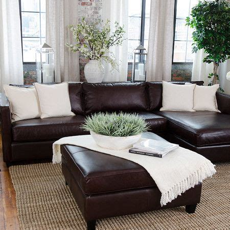 best 25 leather couches ideas on leather decorating brown leather