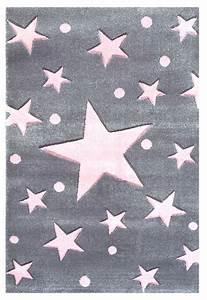 Rosa Grau Teppich : teppich sternen punkten grau rosa ~ Markanthonyermac.com Haus und Dekorationen
