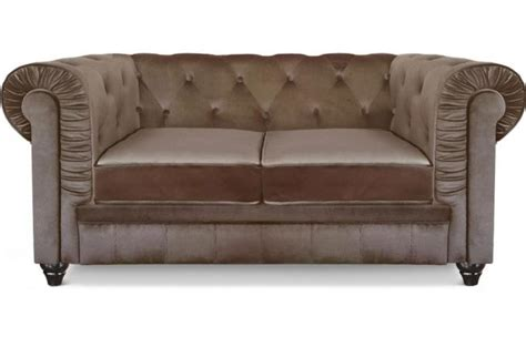 canape chesterfield velour pas cher
