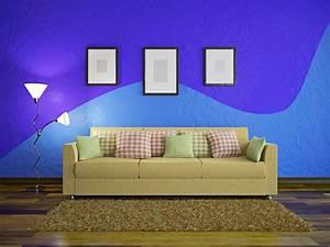 Wohnzimmer Streichen Muster : wand streichen ideen muster f r eine tolles raumgef hl ~ Markanthonyermac.com Haus und Dekorationen