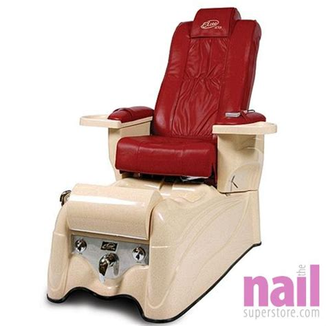 lexor elite ultra pipeless pedicure foot spa chair with back roler the nail