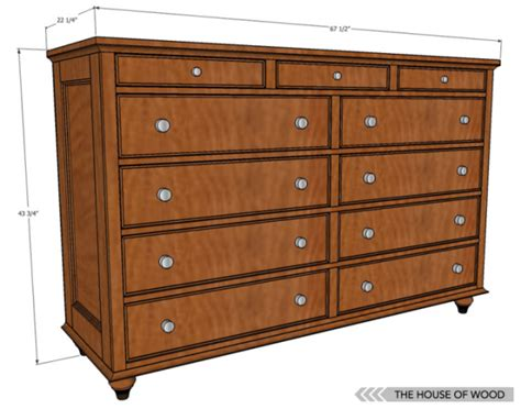 12 Free Diy Woodworking Plans For Building Your Own Dresser