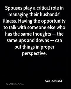 Skip Lockwood Husband Quotes   QuoteHD