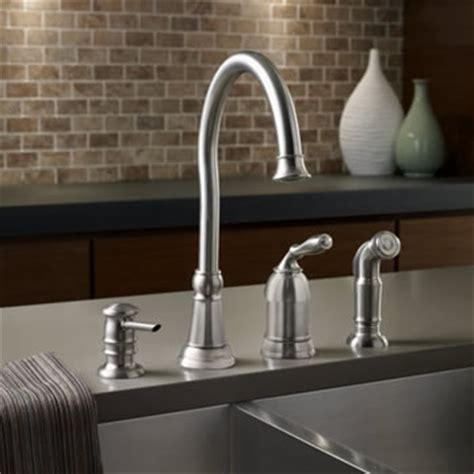 moen lindley kitchen bathroom faucets in the moen