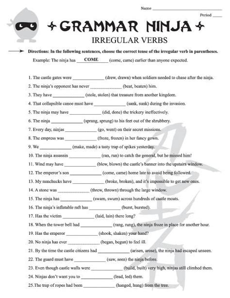 Free English Grammar Worksheets For 4th Grade #3  Create  Pinterest  English, Grade 3 And