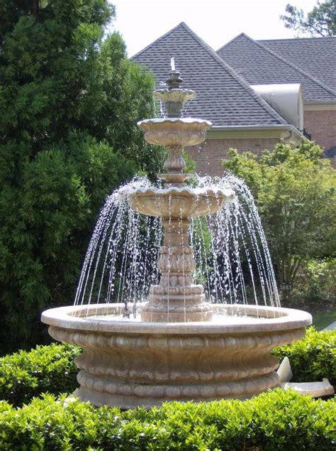 fontaine de jardin installer une fontaine dans jardin pratique fr