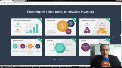 pitch deck presentation review raising venture capital for your startup