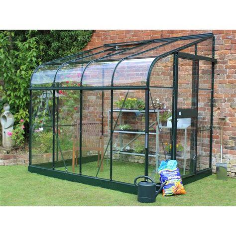 serre de jardin adoss 233 e silverline 4 8 m 178 verre tremp 233 halls plantes et jardins